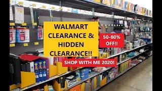 WALMART CLEARANCE & HIDDEN CLEARANCE DEALS! 50-80% OFF! SHOP WITH ME 2020!
