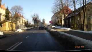 preview picture of video 'Giżycko - przejazd ulicami Białostocką, Warszawską, Wodociagową, Kościuszki i 1 Maja'