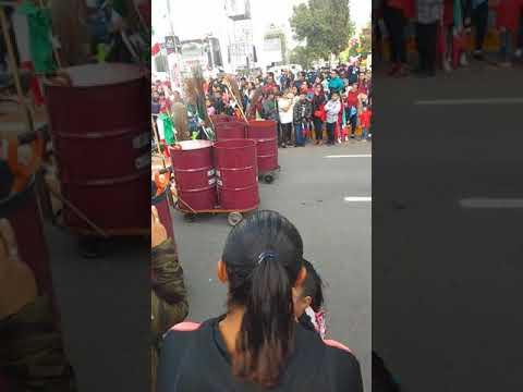 El desfile en San Cristóbal Ecatepec  Edo Mex . 16 de Septiembre de 2019