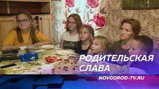Супруги Громовы, воспитывающие 10 детей, удостоены ордена «Родительская слава»