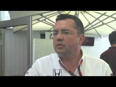 Eric Boullier pour CircuitTV FORMULA 1 GRAND PRIX DU CANADA 2015