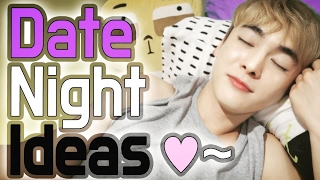 Date night at home, My Korean Boyfriend! #4 Date with Sibong // 집데이트