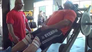 PACMAN Trains Legs - Road to CBBF Nationals