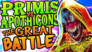 PRIMIS VS APOTHICONS: THE GREAT BATTLE (Call of Duty Black Ops 3 Easter Eggs Der Eisendrache Cipher)