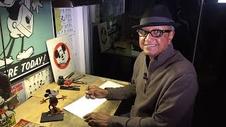How To Draw Mickey Mouse | Quick Draw with Floyd Norman | Disney LIVE