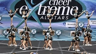 Cheer Extreme Monarchs Showcase 2016 Senior 4