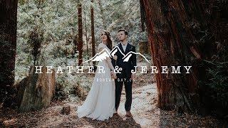 Most EPIC Elopement EVER!!! - Wedding In California Redwoods