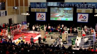 preview picture of video 'FRC North Bay Regionals 2015 Finals Round 3'