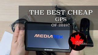 "Is This The Best Cheap GPS for 2019? Alfawise 7"" Car GPS Review"