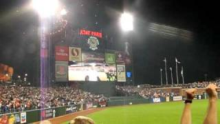 Bonds Homer 756, Celebration, Hank Aaron Tribute