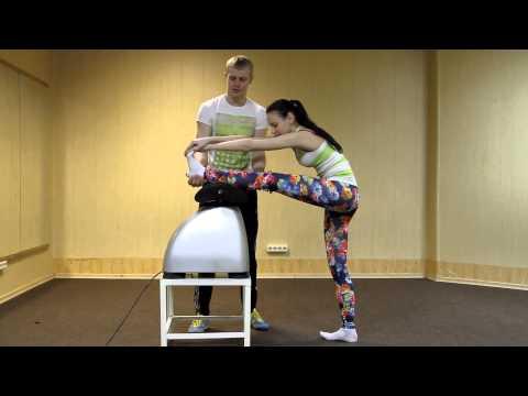 Как убрать живот эффективные упражнения видео