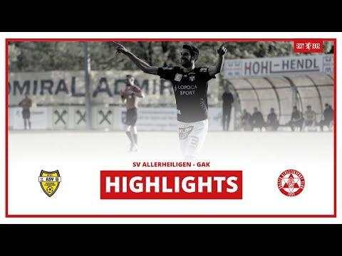 Regionalliga Mitte - 27. Runde: SV Allerheiligen - GAK