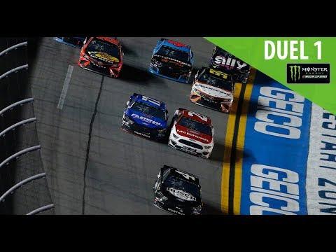 Monster Energy NASCAR Cup Series - Full Race Replay - Gander RV Duel 1 at DAYTONA