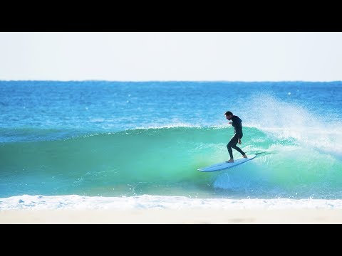AQSS Salient 7'6 Mid Length Surfboard  ft Beau Young