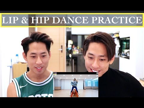HYUNA LIP & HIP DANCE PRACTICE REACTION (현아)
