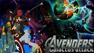 """""""Мстители: Атака Галактуса""""(рисуем мультфильмы)"""
