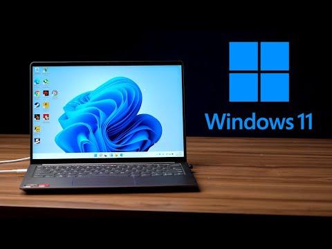關於升級Windows 11後的各種測試