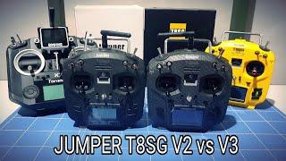 Jumper T8SG V2 vs V3 Carbon Version Indonesia ????????