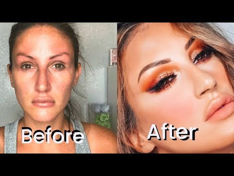 WARM CARAMEL MOCHA FALL MAKEUP TUTORIAL 2019