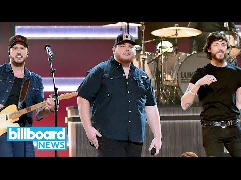 """Luke Combs Gives Emotional """"She Got the Best Of Me"""" Performance at 2018 CMA Awards 