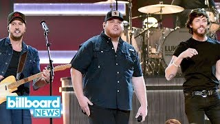 "Luke Combs Gives Emotional ""She Got The Best Of Me"" Performance At 2018 CMA Awards 