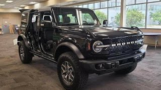 2021 Ford Bronco Black Color - First Walkaround Video And Review !!