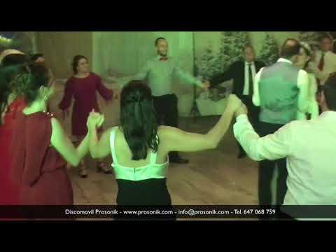 Fin de fiesta con baile final de novios