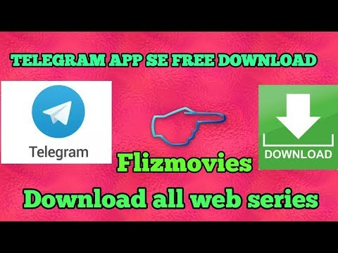 How to download web series ! Telegram app se free download !!