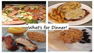 What's for Dinner! Quick and Easy Meal Ideas| July 2019