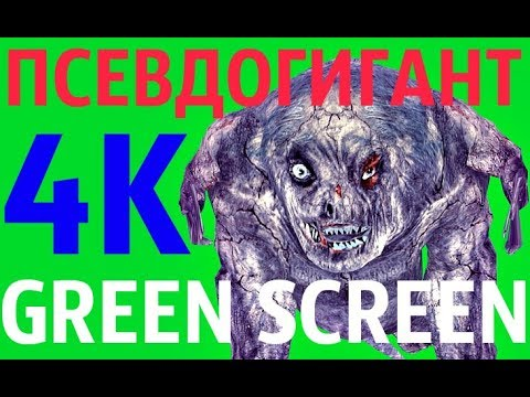 "ФУТАЖ - ""GREEN SCREEN"" IDLE ПСЕВДОГИГАНТ (С.Т.А.Л.К.Е.Р.)"