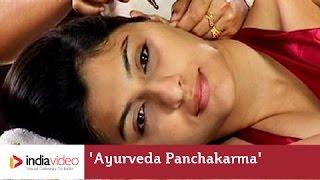 Ayurveda treatment demonstration