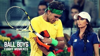 Best Tennis. Ball Boys Fails and Funny Moments