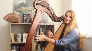 Wonderwall - Oasis (Harp Cover)