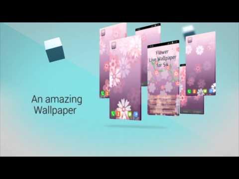 Video of Flower Live Wallpaper for S4