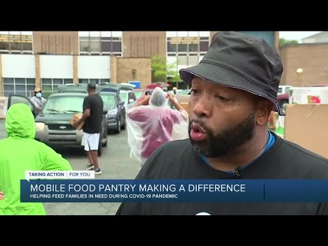Mobile food pantry in River Rouge is making a difference