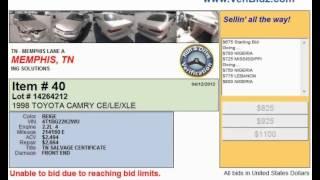 Visit Memphis Salvage Yards Online