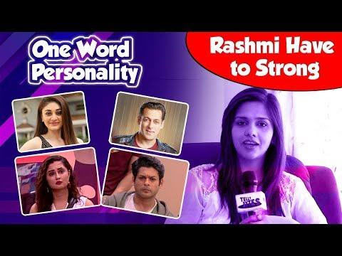 FUN Segment One Word Personality With Daljeet Kaur - Telly bytes