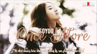 [Vietsub][FMV] SISTAR Soyou - Once More (Empress Ki OST) {STAR1 Team}