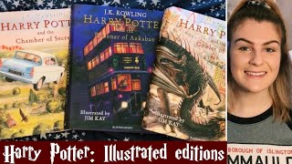 Harry Potter Book Review | The Illustrated Editions 1-4
