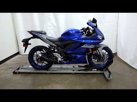 2020 Yamaha YZF-R3 ABS in Eden Prairie, Minnesota - Video 1