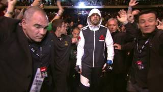 Matt Brown hit 3 times by Brazilian fans during entrance by UFC on Fox
