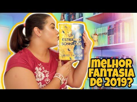 Um estranho sonhador | Melhor fantasia de 2019 | Isadora Livros