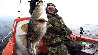 Рыбалка на море в германий