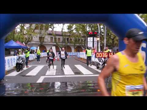 Arribada campió i campiona 10km