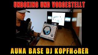 Unboxing und Vorstellung - Auna Base Kopfhörer