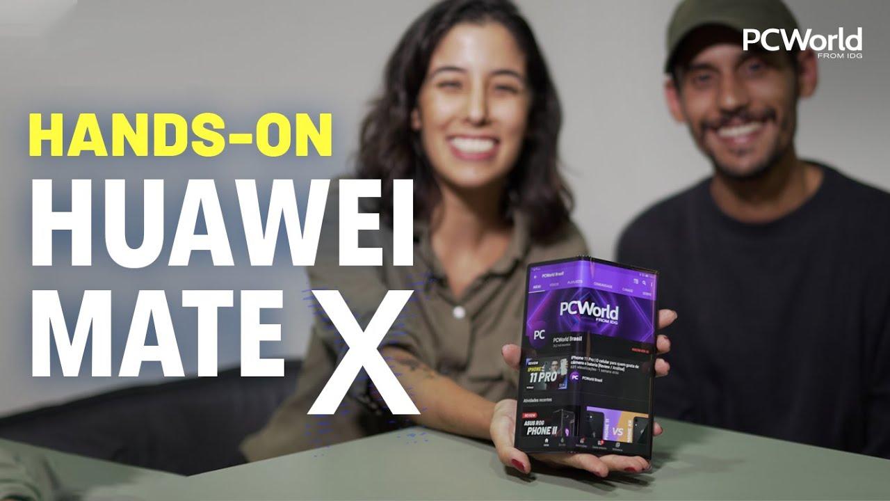 Huawei Mate X: primeiras impressões sobre o dobrável da Huawei