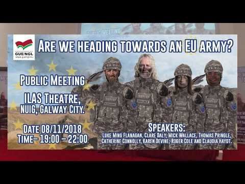 Are We Heading Towards an EU Army? [PUBLIC MEETING]