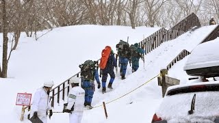 В Японии группу школьников накрыла лавин