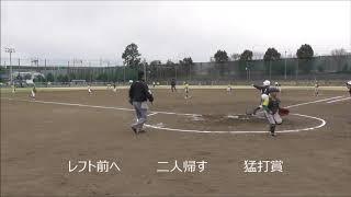 【ジュニア】練習試合vs清瀬旭丘少年野球部