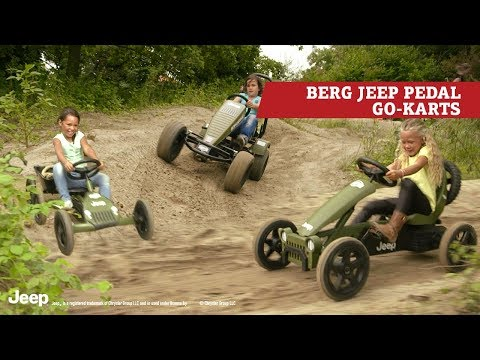 Berg Rally Jeep Adventure skelter